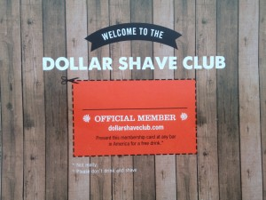 Dollar Shave Club Official Member Card