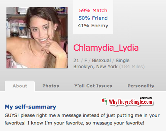 dating sites lying
