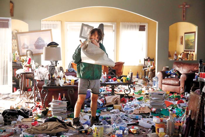 Don't let yourself go, or become a hoarder.  Neither are attractive.