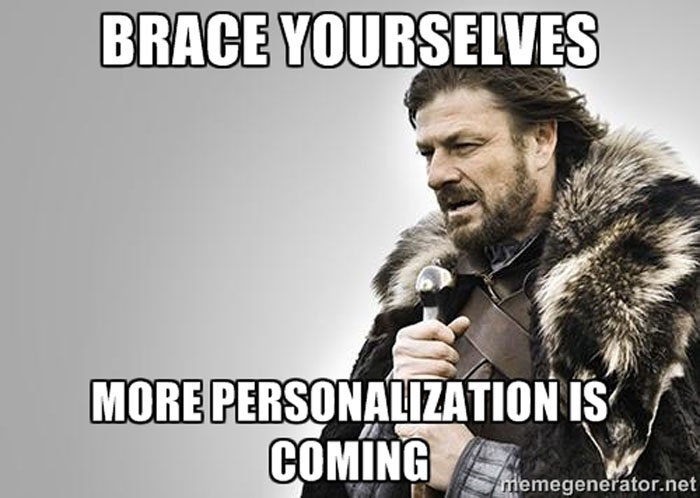 Brace Yourself LFGdating Personalization Meme
