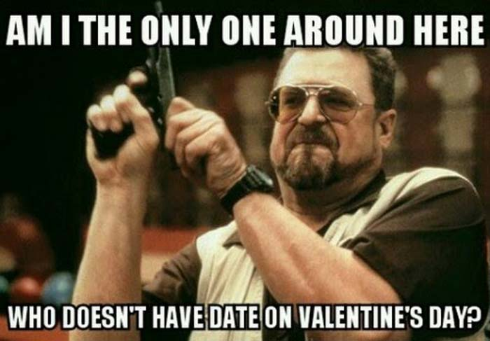 The Big Lebowski Valentine's Day Meme