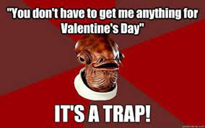 Funny Star Wars Vday Meme