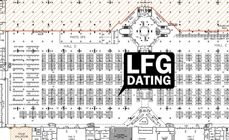 LFGdating will be at Florida Supercon 16 - booth #1711!
