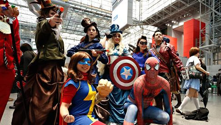 San Diego Comic-Con International Cosplayers FTW - Courtesy of HistoryThings.com