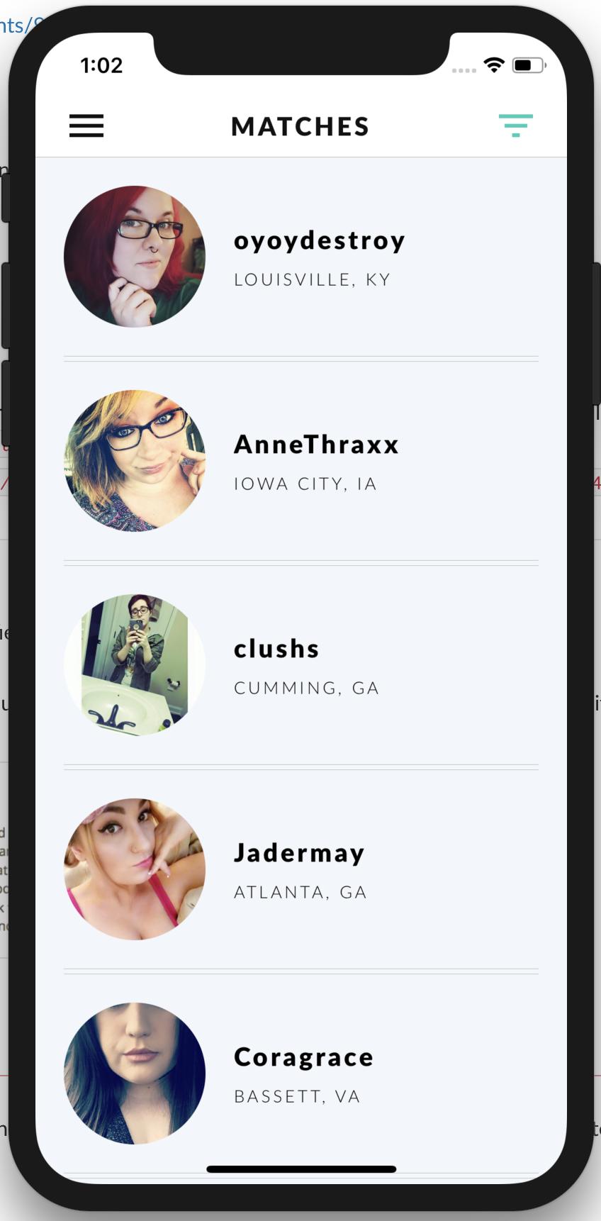 atlanta dating app