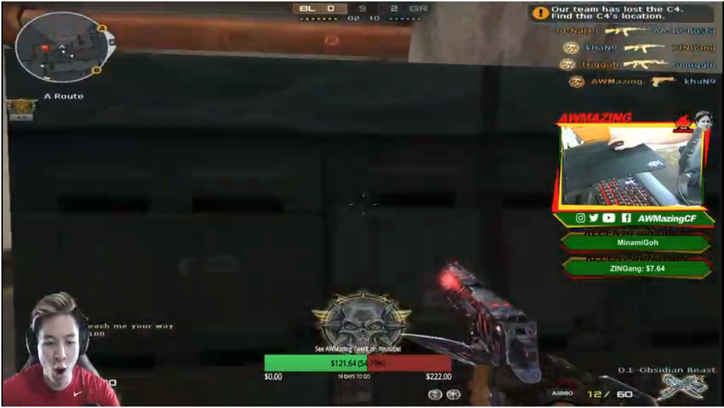 Click here to check out AWMazing's Twitch stream!